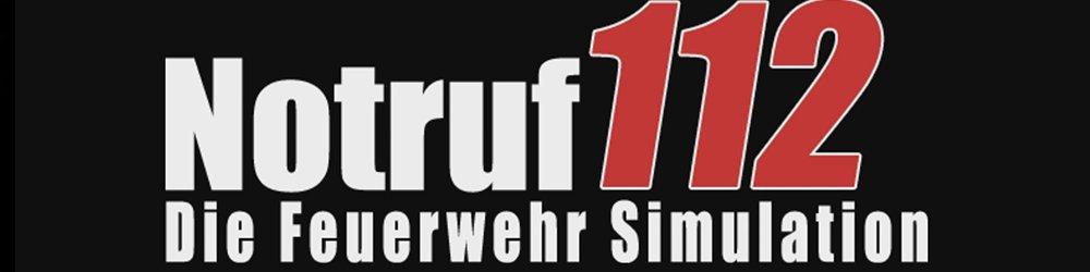 Notruf 112 Die Feuerwehr Simulation banner