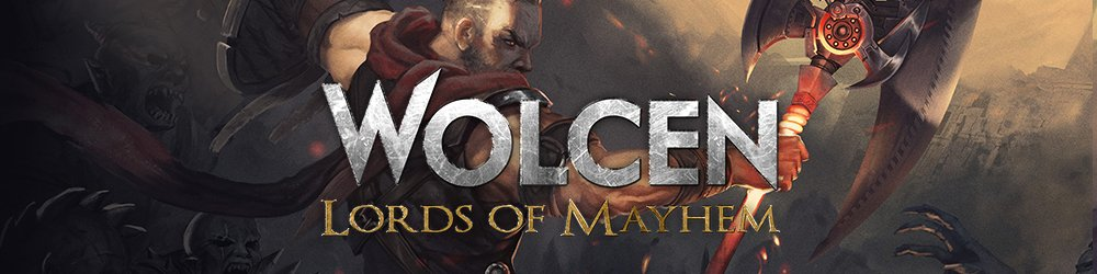 Wolcen Lords of Mayhem banner