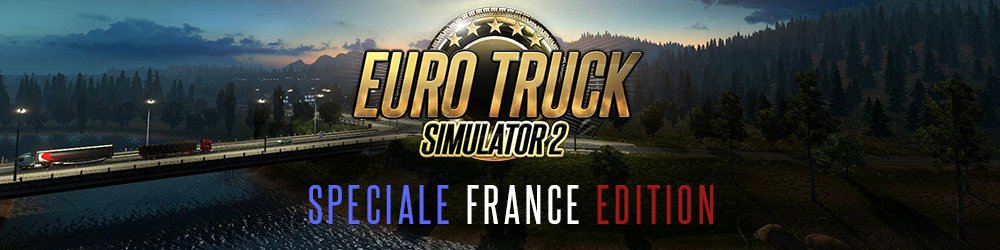 Euro Truck Simulátor 2 Speciale France Edition banner