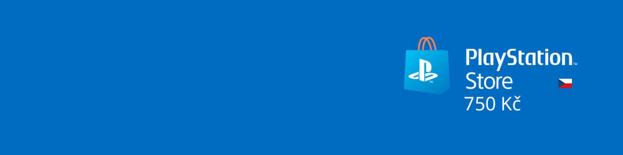 PlayStation Live Cards 750Kč banner
