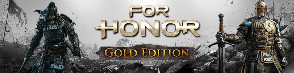 For Honor Gold Edition banner