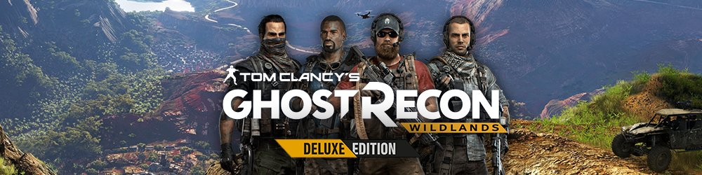Tom Clancys Ghost Recon Wildlands Deluxe Edition banner