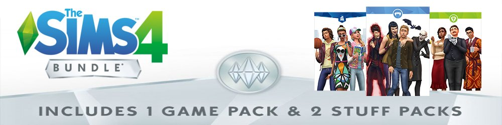 The Sims 4 Bundle Pack 4 banner