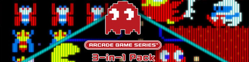 ARCADE GAME SERIES 3-in-1 Pack banner