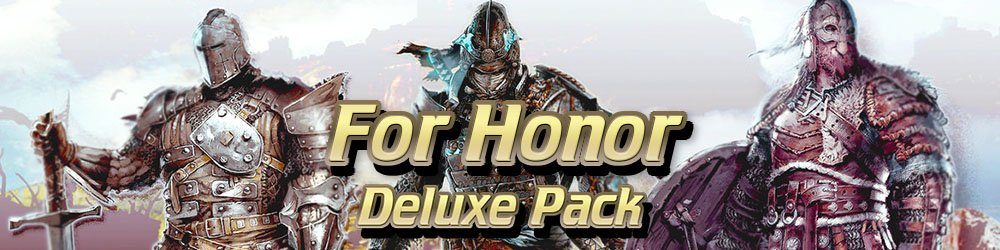 For Honor Deluxe Pack banner