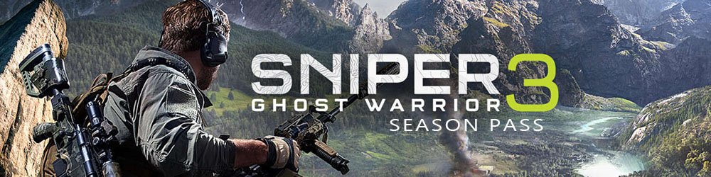 Sniper Ghost Warrior 3 Season Pass banner