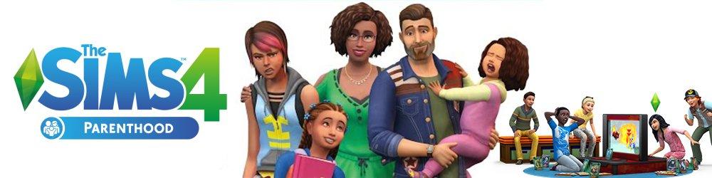 The Sims 4 Rodičovství banner