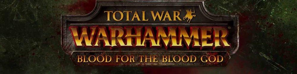 Total War WARHAMMER Blood for the Blood God banner
