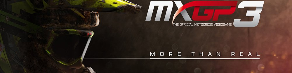 MXGP3 The Official Motocross Videogame banner