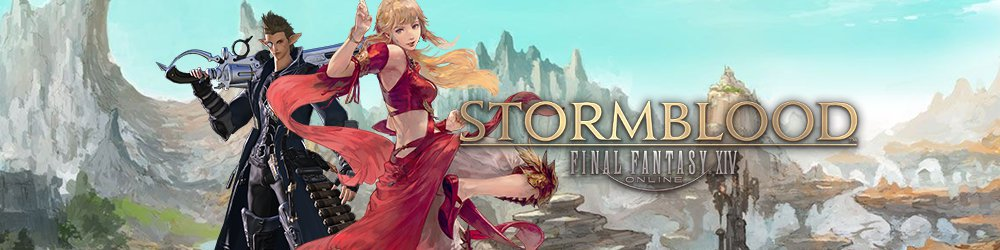 Final Fantasy XIV Stormblood banner