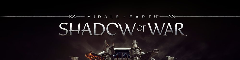 Middle-Earth Shadow of War banner