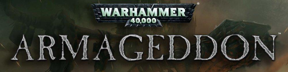 Warhammer 40,000 Armageddon banner