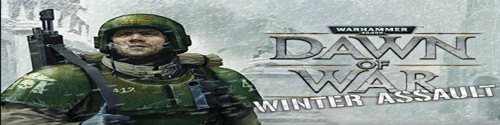 Warhammer 40,000 Dawn of War Winter Assault banner