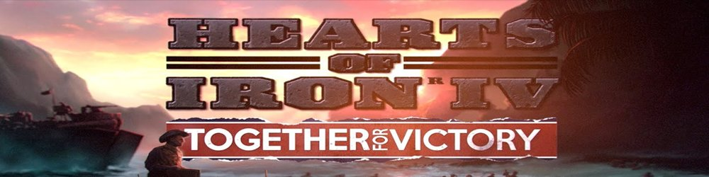 Hearts of Iron IV: Together for Victory banner