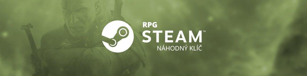 RPG náhodný steam klíč banner