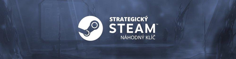 Strategický náhodný steam klíč banner