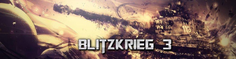 Blitzkrieg 3 banner
