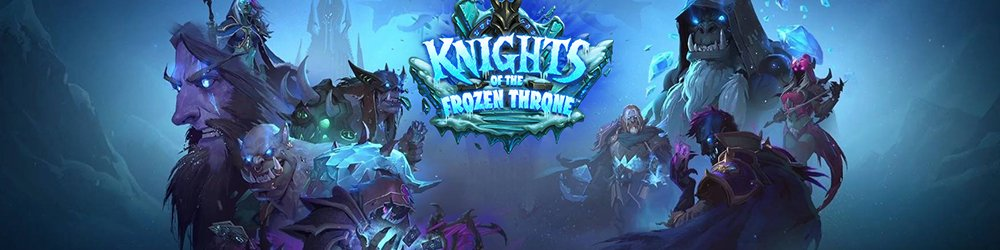 15x Hearthstone Knights of the Frozen Throne banner