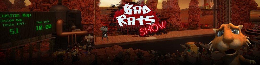 Bad Rats Show banner