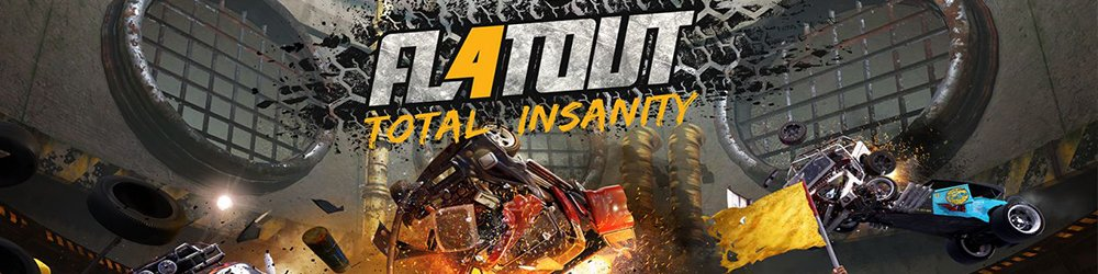 FlatOut 4 Total Insanity banner