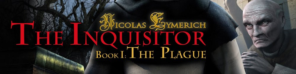 Nicolas Eymerich The Inquisitor  Book 1 The Plague banner