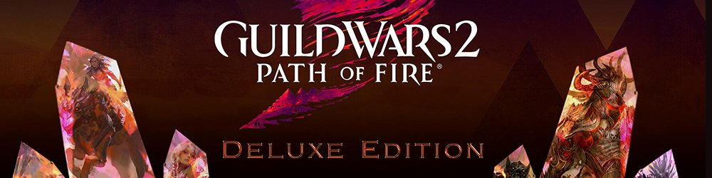 Guild Wars 2 Path of Fire Deluxe Edition banner