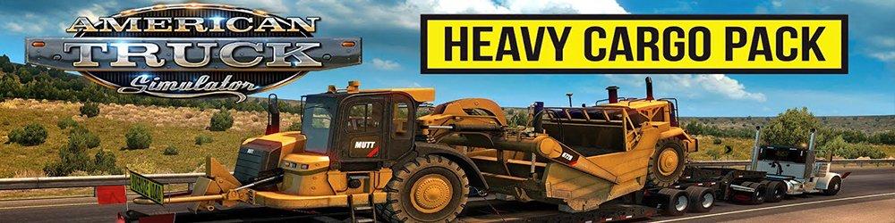 American Truck Simulator Heavy Cargo Pack banner