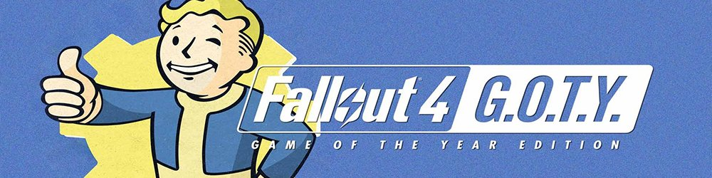 Fallout 4 Game of the Year Edition banner