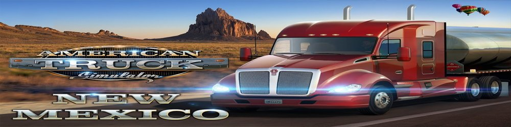 American Truck Simulator New Mexico banner