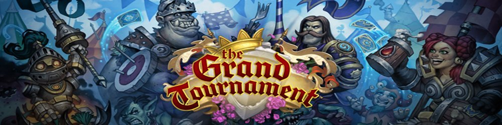 15x Hearthstone The Grand Tournament Pack banner