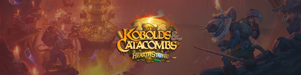 15x Hearthstone Kobolds & Catacombs banner