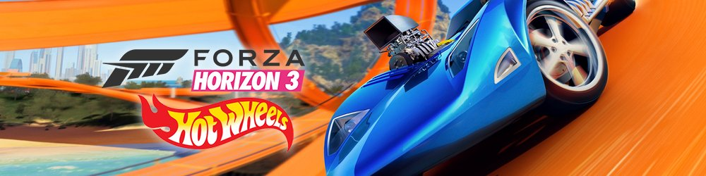 Forza Horizon 3 + Hot Wheels Xbox One banner