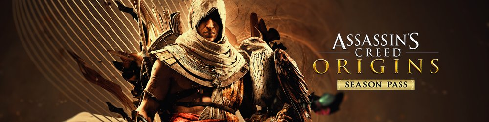 Assassins Creed Origins Season Pass banner