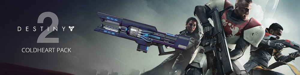 Destiny 2 Coldheart Pack banner