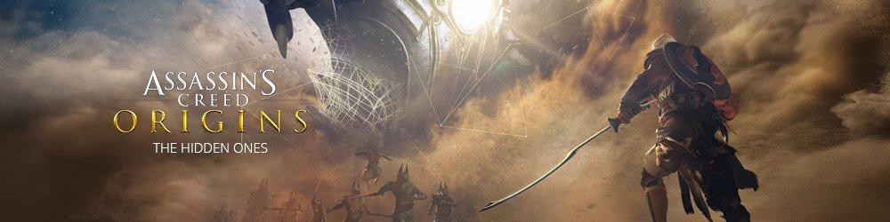 Assassins Creed Origins The Hidden Ones banner