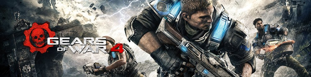 Gears of War 4 Xbox One banner
