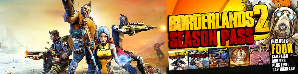 Borderlands 2 Season Pass banner