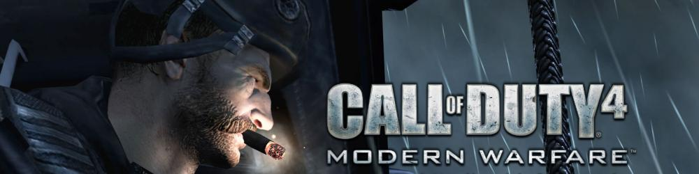 Call of Duty 4 Modern Warfare banner