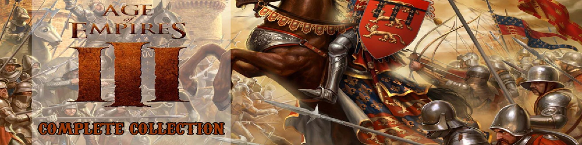 Age of Empires III Complete Collection banner