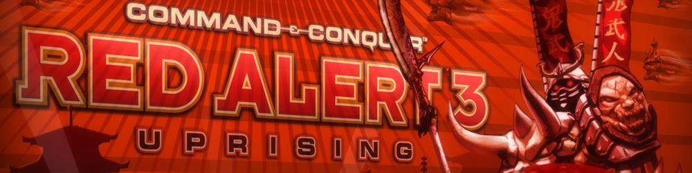 Command and Conquer Red Alert 3 Uprising banner