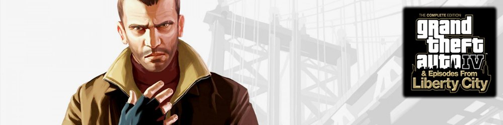 Grand Theft Auto 4 Complete Edition, GTA 4 CE banner