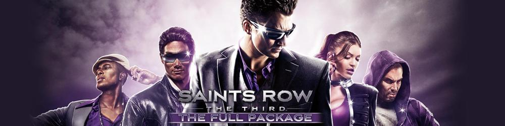 Saints Row The Third The Full Package banner