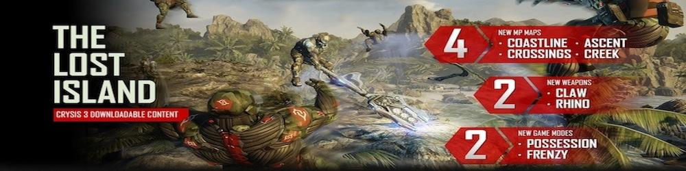 Crysis 3 The Lost Island banner