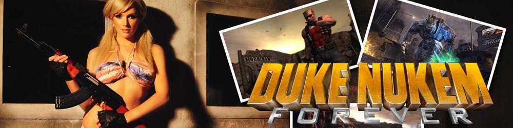 Duke Nukem Forever banner