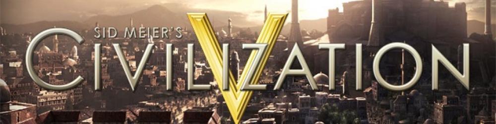 Civilization V banner