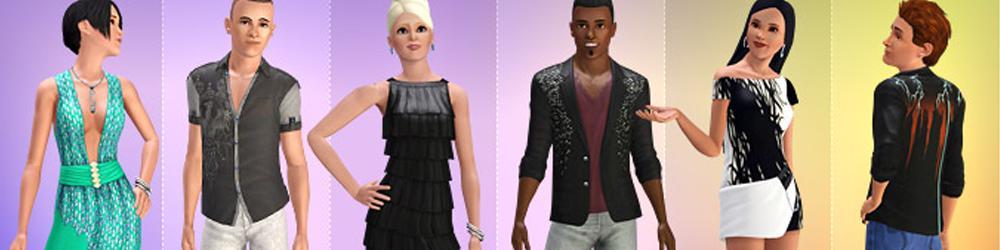 The Sims 3 Žhavý večer banner