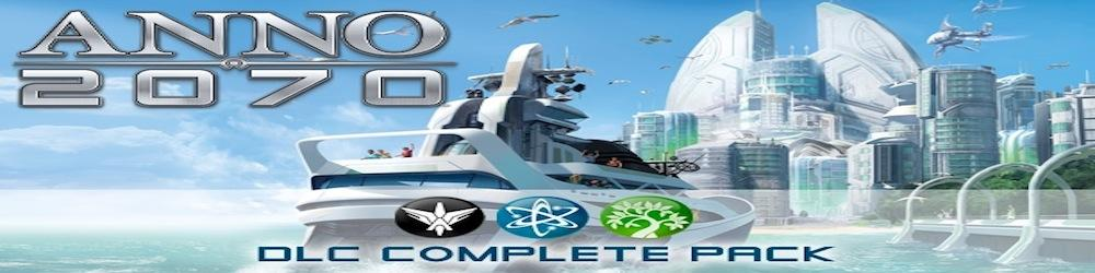 Anno 2070 DLC Complete Pack banner