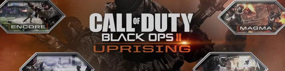 Call Of Duty Black Ops 2 Uprising banner