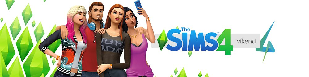 The Sims 4 víkend
